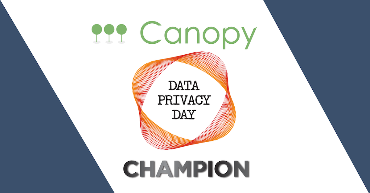 Canopy is a data privacy day champion