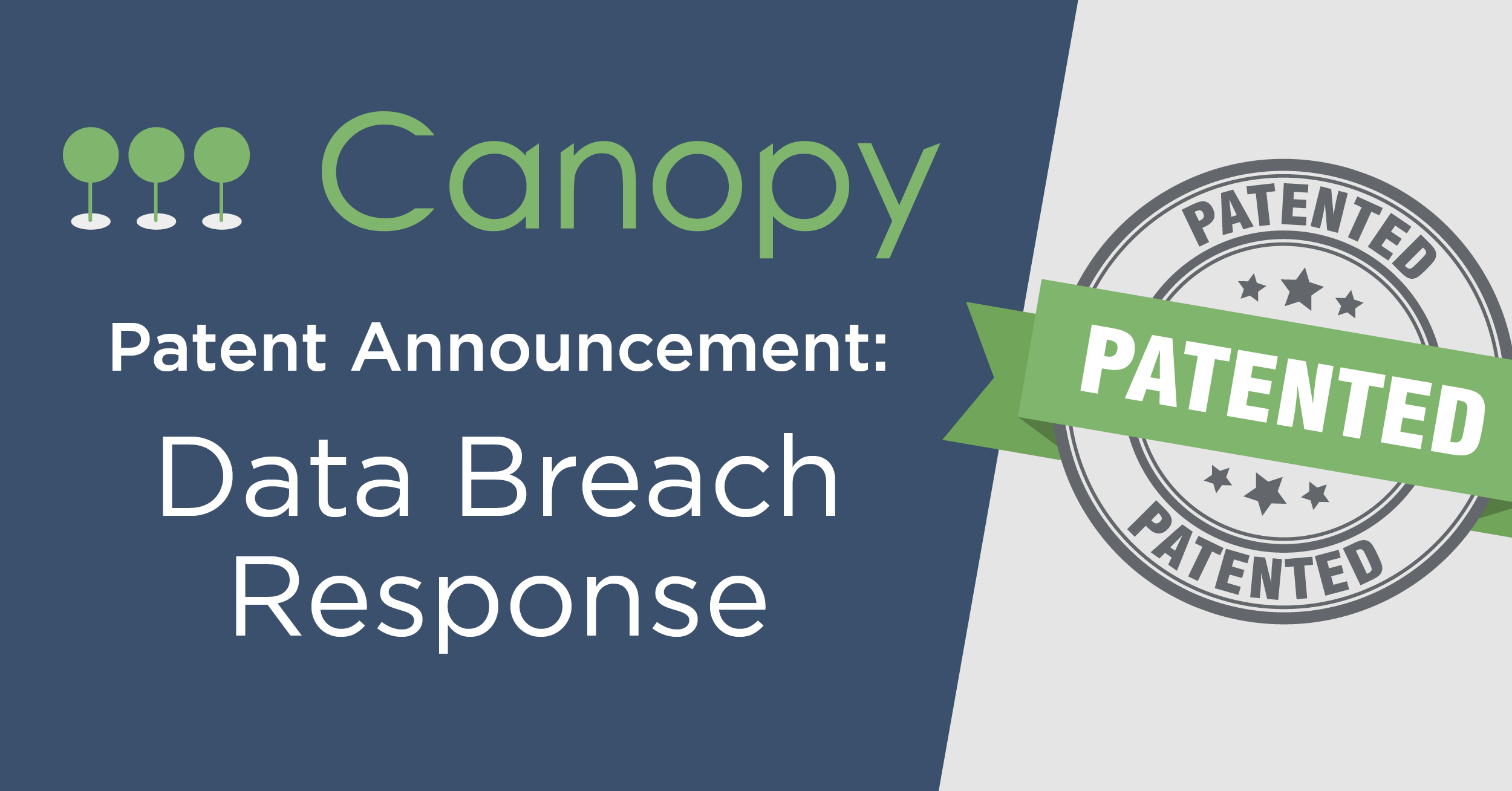 Canopy Software, Inc. Patent Announcement for Data Breach Response